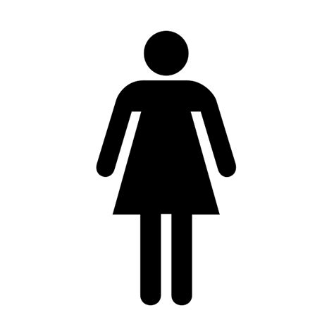 bathroom sign person free vector graphic restroom bathroom sign ladies
