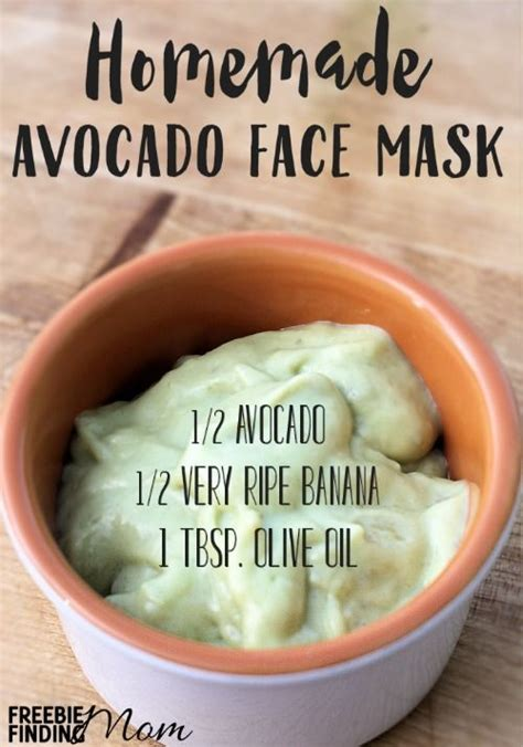 mask diy recipe avocado mask recipe give your skin a