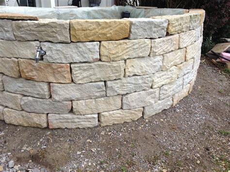 Betonsteine Mauer Preis by Mauersteine 15 20 40 Steinmauer Sandstein Mauer Ebay