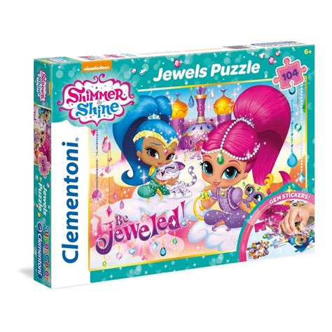 Shimmer And Shine My Puzzle Book nickelodeon shimmer shine puzzle 104 jigsaw craftyarts co uk