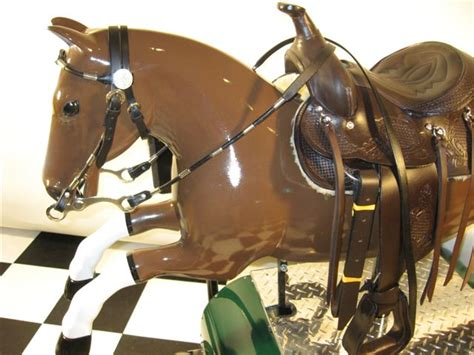 Restored Sandy Horse Kiddie Ride: 1950's Coin Operated