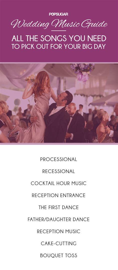 wedding singer song list order wedding guide popsugar entertainment