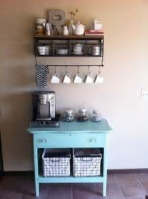 Small Home Coffee Bar 14 Tips For Diying A Coffee Bar At Home Brit Co
