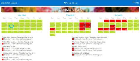 Disneyland Blackout Calendar 2015 Disneyland Blackout Dates For Cast Members Caroline