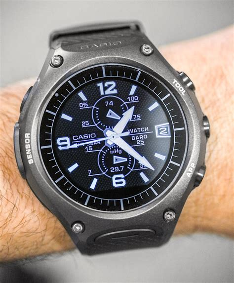 Casio Smartwatch Android casio wsd f10 android wear smartwatch review page 2 of 2