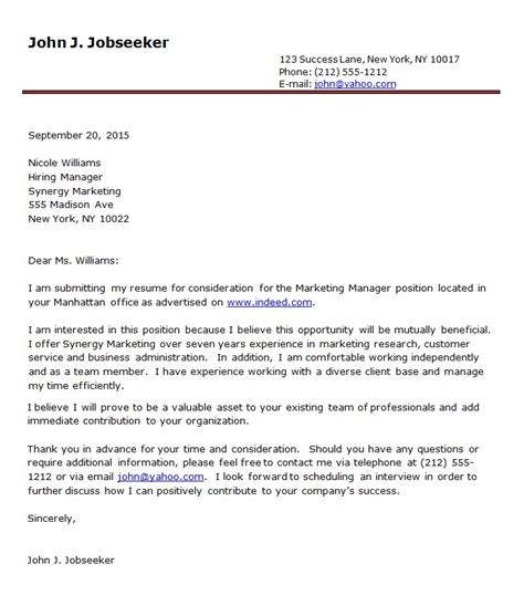 Proper Formatting For A Cover Letter by Proper Format For Cover Letter Cover Letter For A Resume
