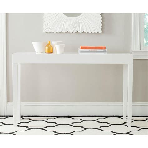 Safavieh Console Table Safavieh Kayson White Console Table Fox4204a The Home Depot
