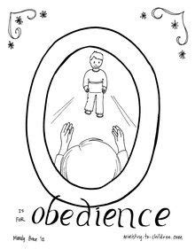 lds coloring pages obedience disobedience and obedience coloring pages coloring pages