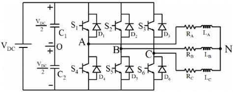 3 phase inverter circuit diagram three phase inverter schematic mimic diagram of three
