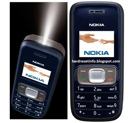 resetting nokia phone to factory settings hard reset nokia 1209 hardresetinfo