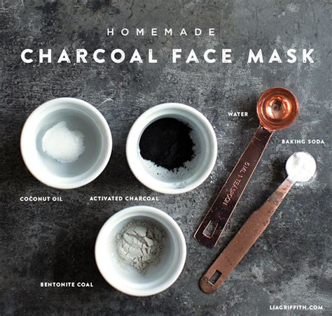diy charcoal mask diy charcoal mask