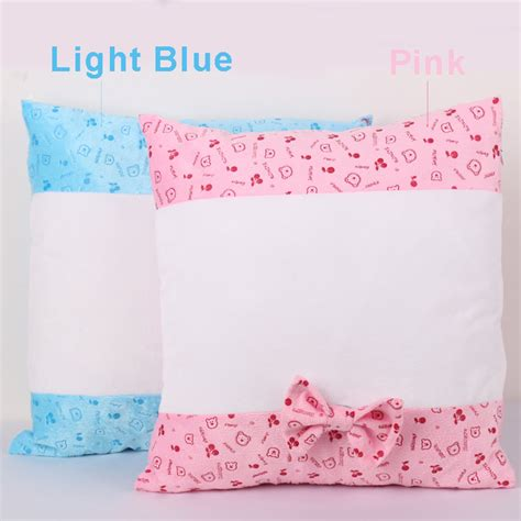 Two Pcs Pillow Cases 90436 sublimation blank pillow with two sides pattern