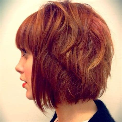 bob hairstyles in red 20 trendy fall hairstyles for short hair 2017 women short