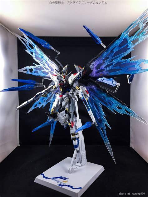 Custom Wing Effect Mg Strike Freedom Fbm Gundam 1 100 861 best images about model customs on world