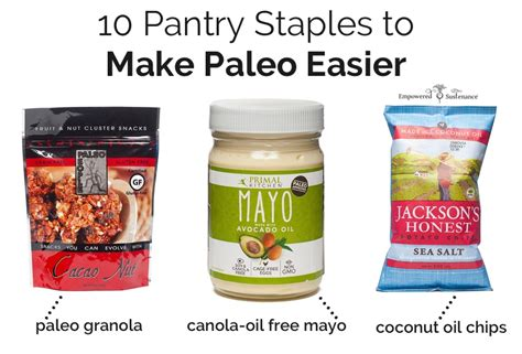Paleo Pantry Staples by 10 Pantry Staples To Make Paleo Easier