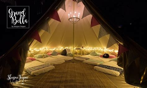 Girls Room Ideas On sleepee teepee amp grand bella the ultimate sleepover