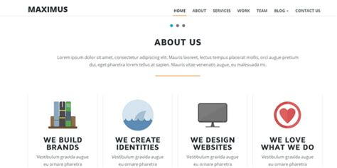 one page template html 20 flat onepage responsive html5 templates
