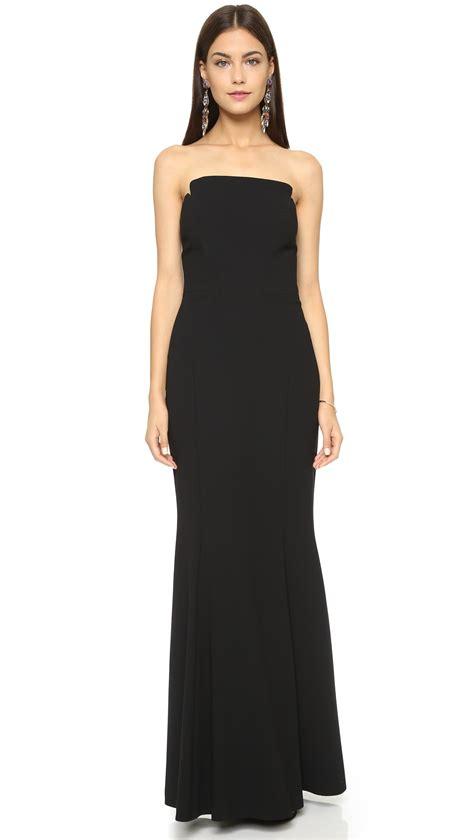 Dress In Black lyst stuart strapless dress in black