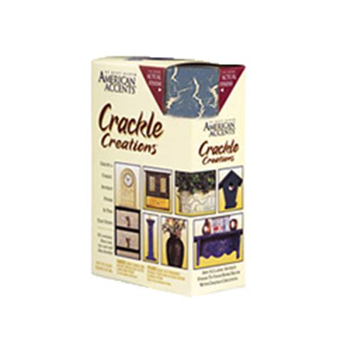 american accents decorative finishes crackle creations kit