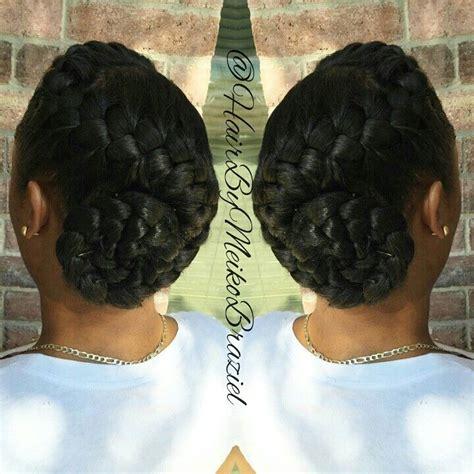 goddess braids pin up styles simple elegant goddess braid bun braids pinterest