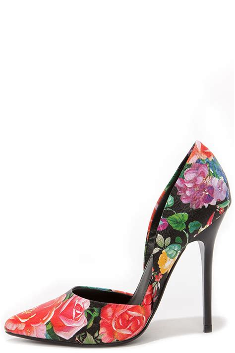 Steve Madden D Orsay by Pretty Floral Pumps D Orsay Pumps D Orsay Heels 89 00