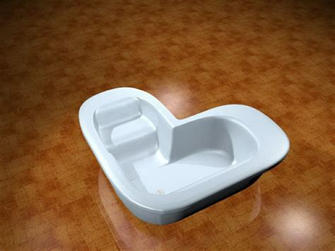heart shaped bathtub heart shaped bathtub 3d model 3dsmax files free download