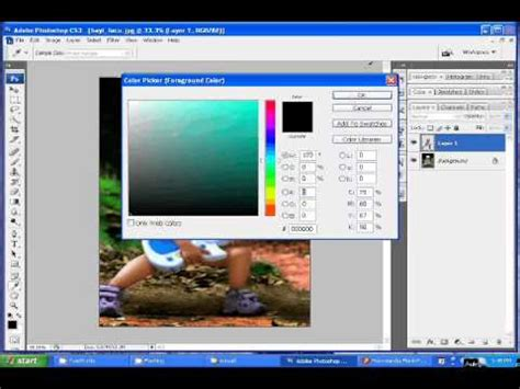 tutorial photoshop cs5 ganti background tutorial ganti background foto pas foto dengan photoshop