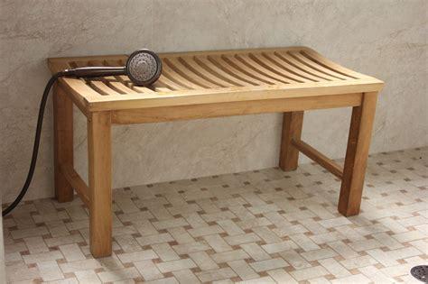 outdoor shower bench aqua stratus 36 quot backless indoor outdoor bench shower