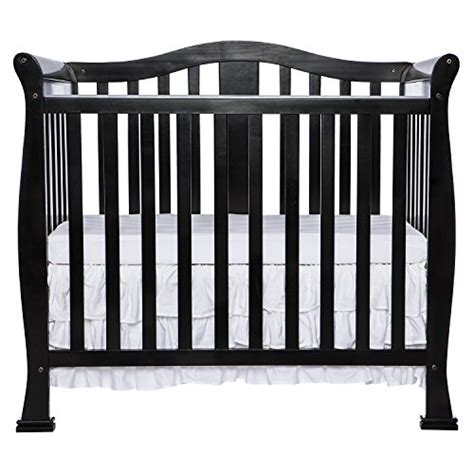 Dream On Me Addison 4 In 1 Convertible Mini Crib Black Toys R Us Mini Crib