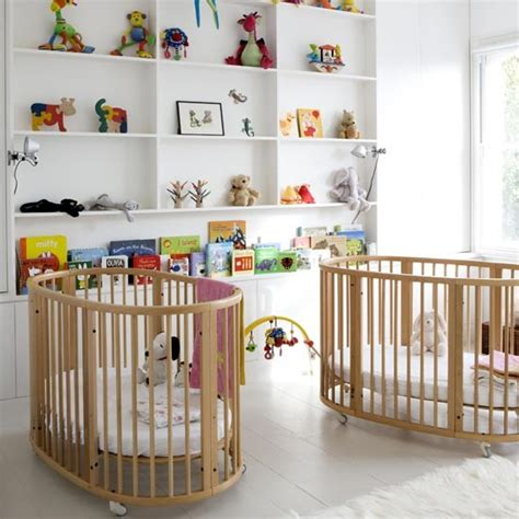 baby beds for twins twin nursery children s room nursery ideas image