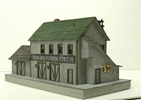 Brothers Plumbing Supply by How To Build The Curtis Bros Plumbing Supply Co Z Scale