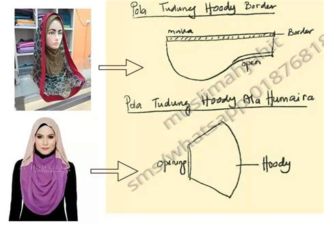 tutorial jahit turban 24 best images about pola tudung on pinterest discover