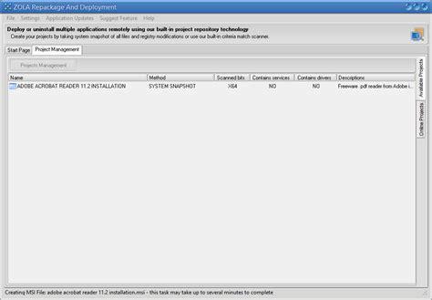msi if full version of adobe acrobat msi authoring tool convert setup to msi package