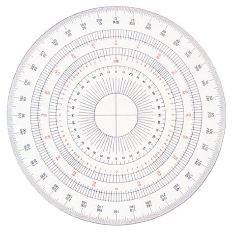 circular protractor template circle protractor template printable images