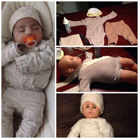 diy baby mummy costume diy baby costumes mummy costume