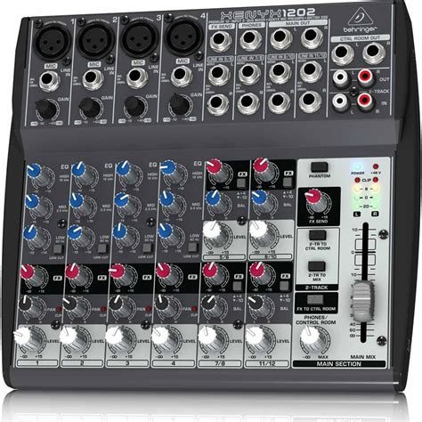behringer xenyx 1202 musical instruments