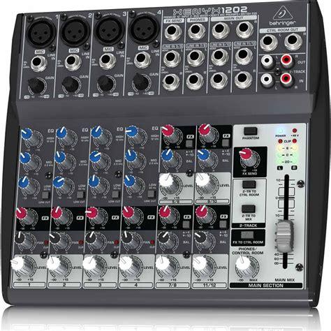 Mixer Audio Behringer 1202 behringer xenyx 1202 musical instruments