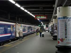 Caledonian Sleeper Service by The Caledonian Sleeper At Euston Station 169 Lucas