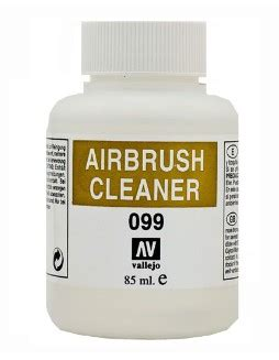 vallejo paints 85ml bottle airbrush cleaner