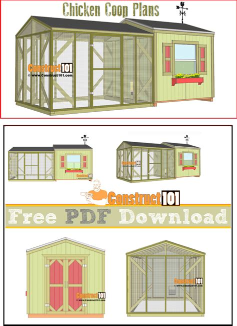 free backyard chicken coop plans 10 free chicken coop plans