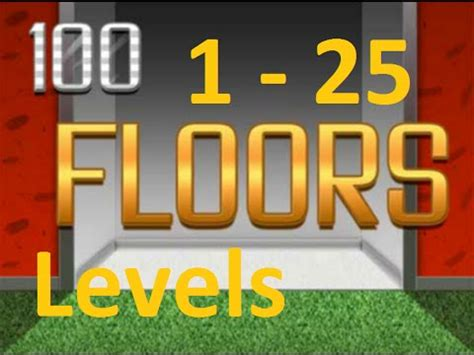 100 Floors Can You Escape Level 100 - 100 floors can you escape level 1 25 1 25