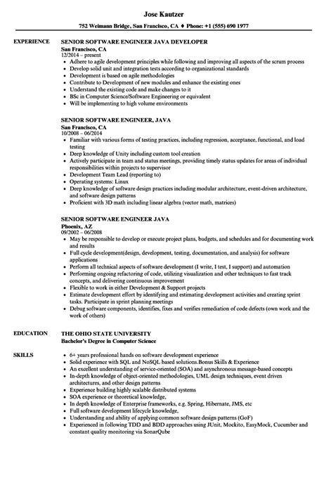 lead software engineer resume samples visualcv resume samples database