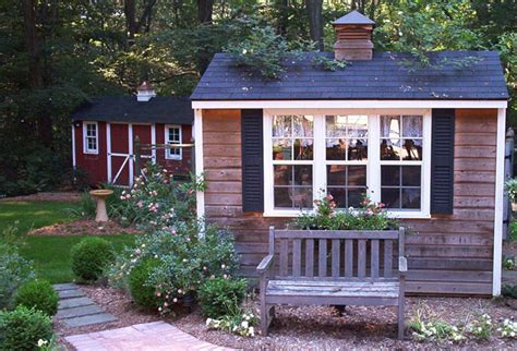 Decorated Garden Sheds by Decorative Garden Sheds Choosing The Right Backyard Shed