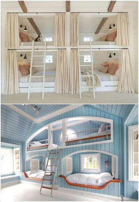 home interior design built  bunk bed kids rooms