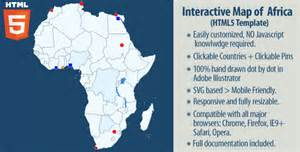 interactive map of interactive map of africa by art101 codecanyon