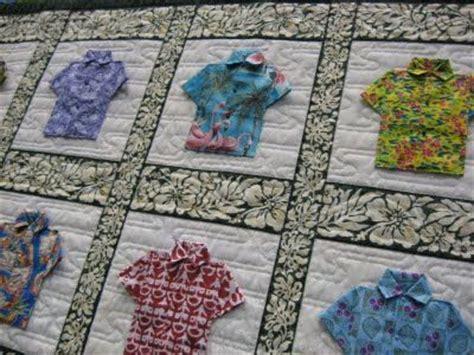 aloha shirts quilt quilting ideas