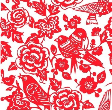 new year flower pattern vector free vector 655 free vector for