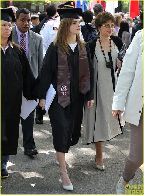 emma watson college major full sized photo of emma watson graduates brown university