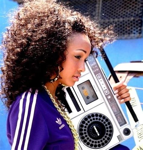 rashidas hip hop curly hair hip hop fashion can you rock it like this girlfriend is