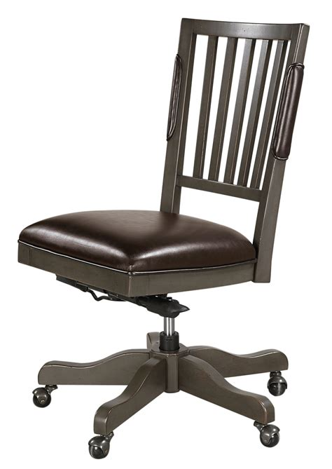 oxford chair aspenhome oxford office chair in peppercorn i07 366 pep